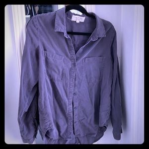 Slate Grey Button Down